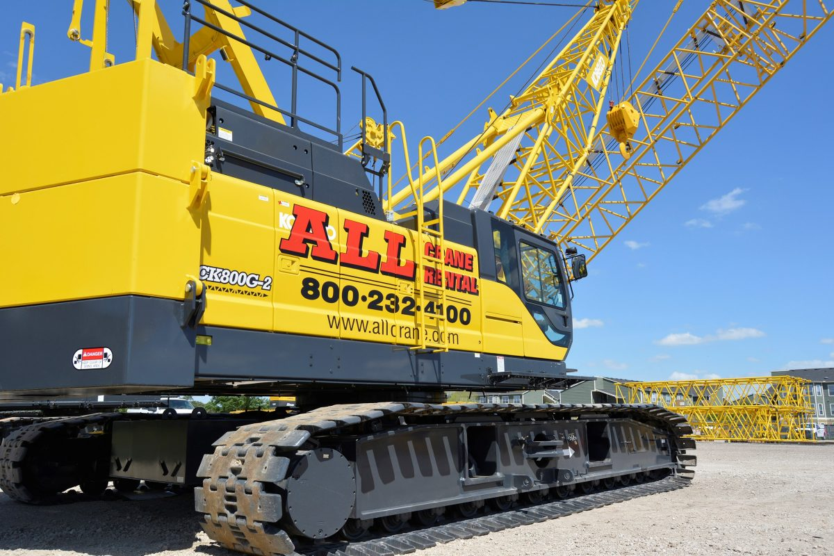 ALL Buys Eight-Crane Package from Kobelco PR Image 1.7.19