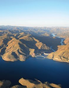 About 80 miles outside of Phoenix, Theodore Roosevelt Lake is a large reservoir that is a part of the Salt River Project. It is the oldest of the six reservoirs constructed and operated by the SRP. (Photo provided)