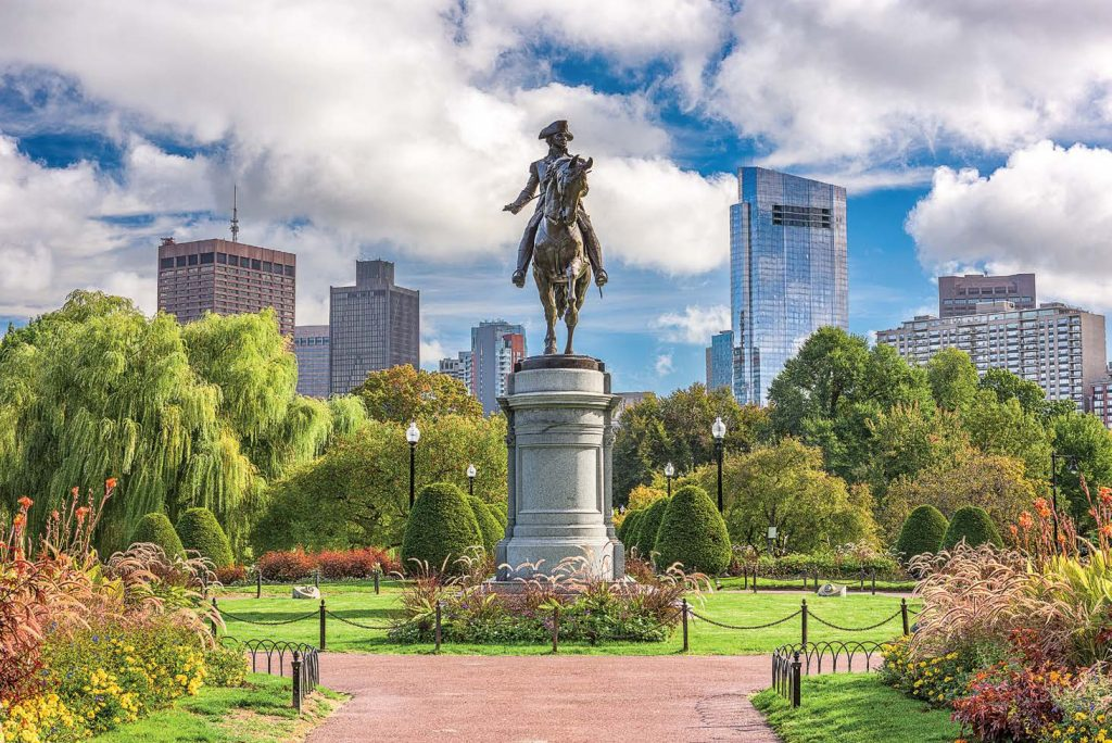 Boston uses ArcGIS Urban to measure the impact of future developments on its green spaces. (Shutterstock.com)