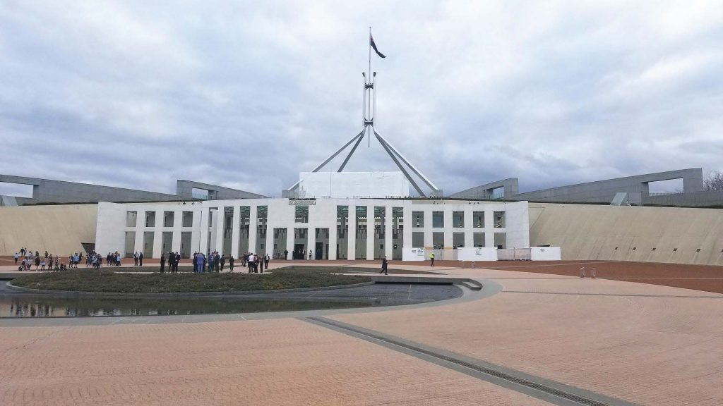 This photo of the Canberra House of Parliament in Canberra, Australia, was taken by Eric King, city manager of Bend, Ore., when he visited the country as part of the International Management Exchange program. King visited Frankston, Victoria, last August. (Photo provided)
