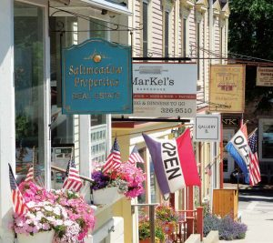 Businesses in Castine are supported throughout the summer by tourists and then by students attending the Maine Maritime Academy starting at the end of August. (Photo provided)