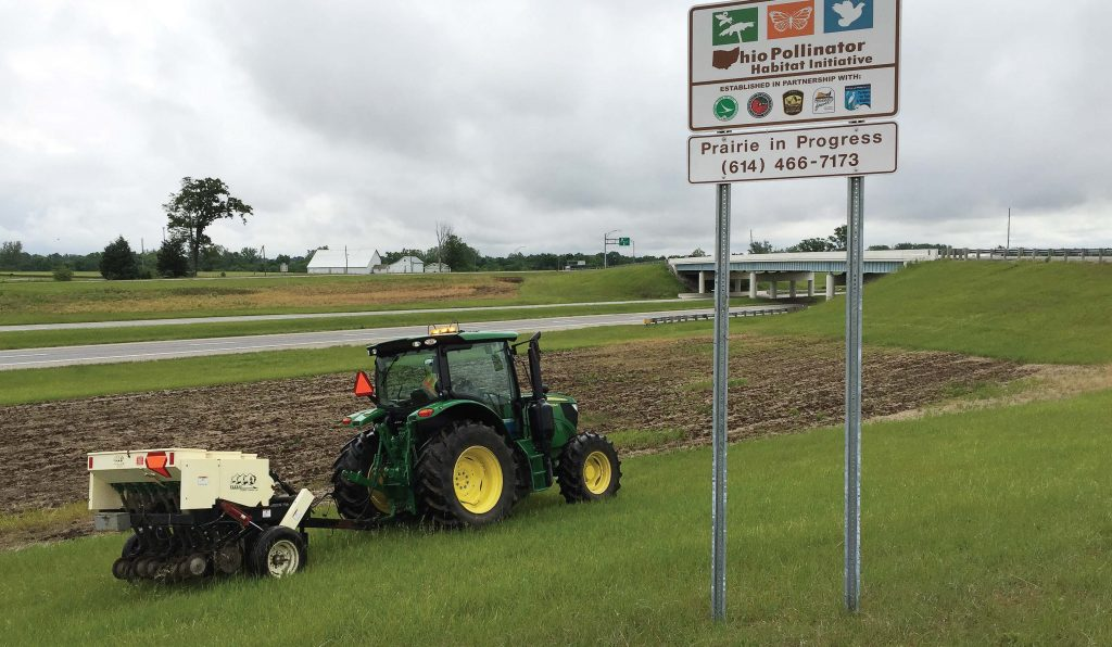 Ohio Department of Transportation's Highway Beautification and Pollinator Habitat Program saved Ohio taxpayers an estimated $1.8 million with its reduction in mowing. (Photo provided)
