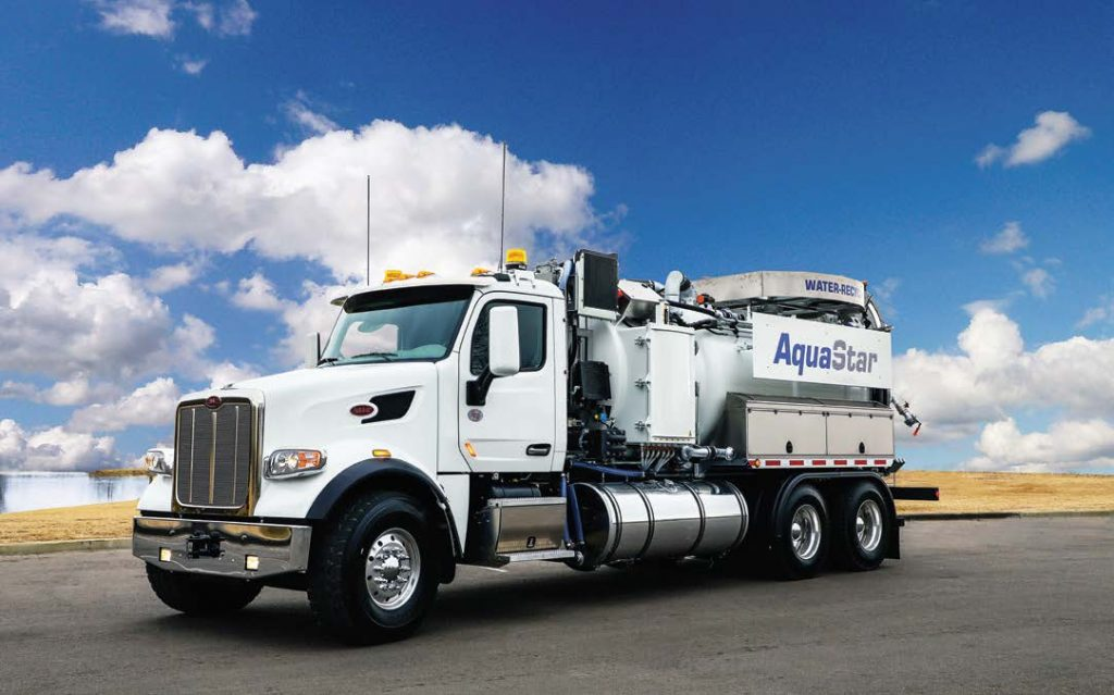 With the patented ROTOMAX water recycling system, the AquaStar represents a benchmark for the industry in the high-performance recycling sector. (Photo provided)