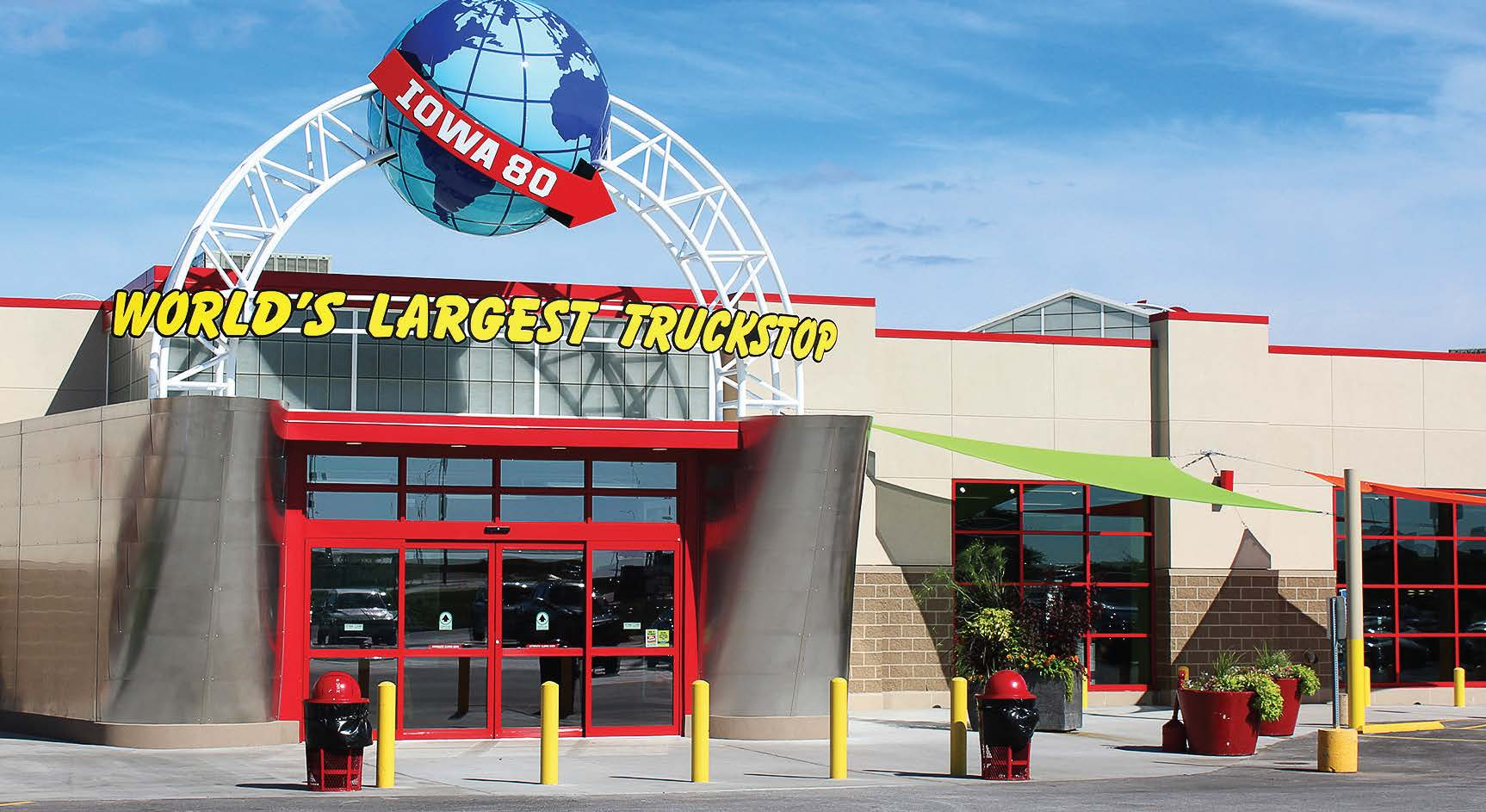 Ta Truck Stop >> World's largest truck stop Walcott, Iowa - The Municipal