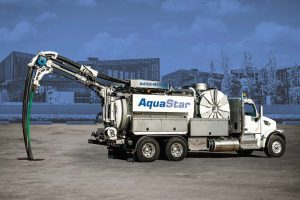 The AquaStar is equipped to clean sewer pipes as well as catch basins. (Photo provided)