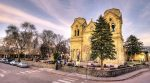 Santa Fe is using its $20 million GRT Bond to address a backlog of road and facility repairs. Pictured is Santa Fe's Cathedral Basilica of St. Francis of Assisi. (Shutterstock.com)
