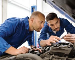 Setting training goals can ensure automotive technicians stay up to date on the latest technologies while preventing a potential skills gap. (Shutterstock.com)