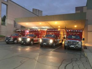 With the leasing arrangement in place, Rockford, Ill., was able to get new ambulances as well as a number of other vehicles. The first year, the city spent over $10 million replacing fleet vehicles. (Photo provided by the city of Rockford, Ill.)