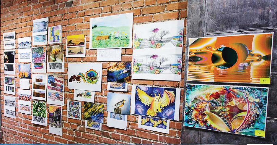 In partnering with local artists and art groups, municipalities stand a better chance of having their projects heard and gathering art submissions. According to Beth Andress, Casper, Wyo., the broader the theme was the more submissions they received. (Photo provided)