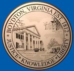 boydaton va city seal