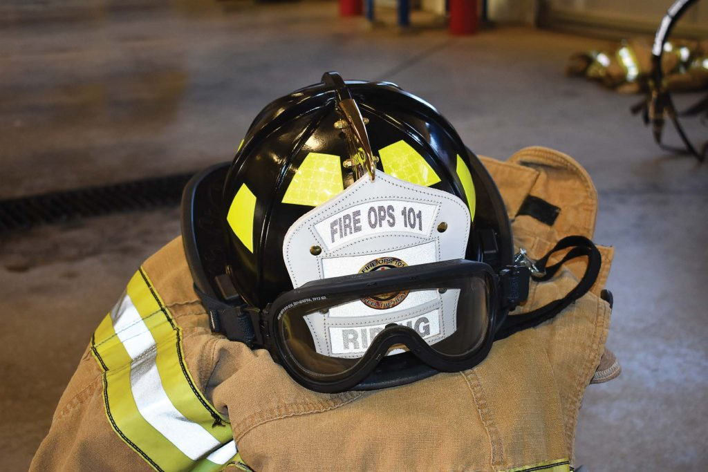According to Roy Todd, value can be lost in tradition. While there's hope that Fire Ops 101 will become a tradition in West Jordan, the true meaning behind the training won't be lost. (Photo provided)