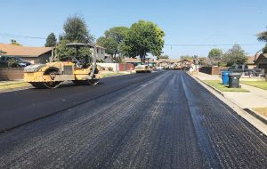 Once the initial grading is complete, roads will be regraded every two to four years. (Photo provided)