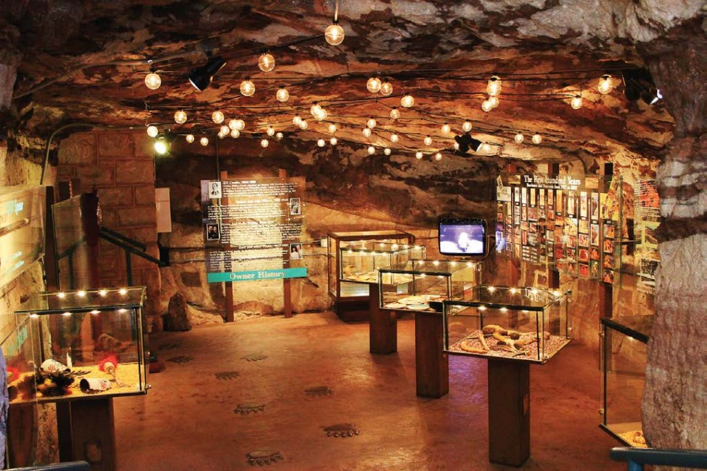 The museum at the complex contains exhibits displaying the life of the Pueblo tribes in the area.