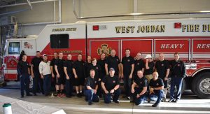 In the beginning, the West Jordan Fire Department contacted other local departments and unions to gather information to get a better idea on how to create a successful Fire Ops 101. (Photo provided)