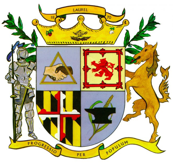 Laurel, Maryland city seal