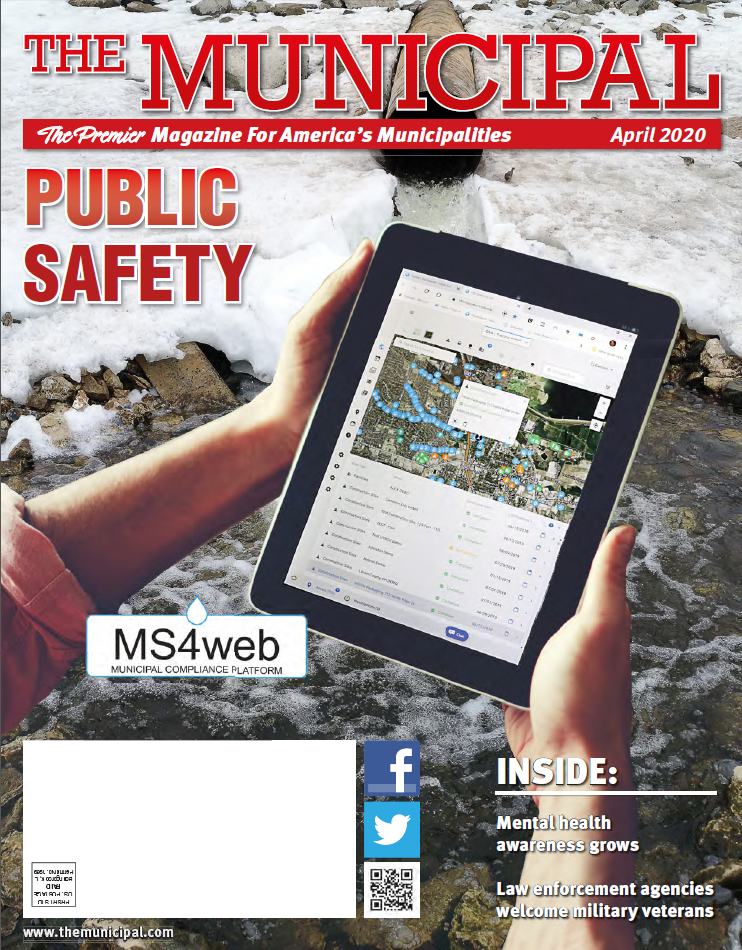 The Municipal Magazine March 2020 Cover